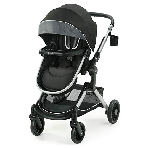 New Graco Modes Nest Stroller | Baby Stroller with Height Adjustable Reversible Seat, Bassinet Mode,...