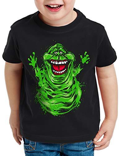 style3 Slimer T-Shirt für Kinder geisterjäger Gespenst, Größe:116