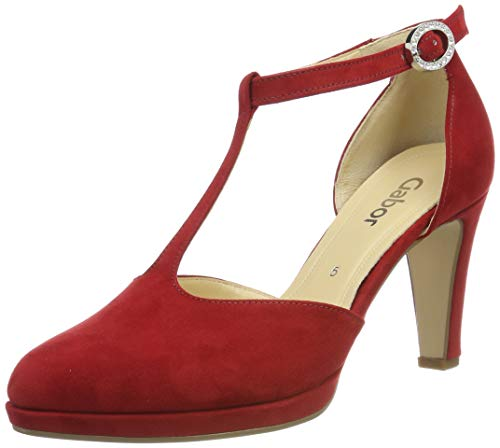 Gabor Shoes Damen Fashion Pumps, Rot (Cherry 45), 39 EU
