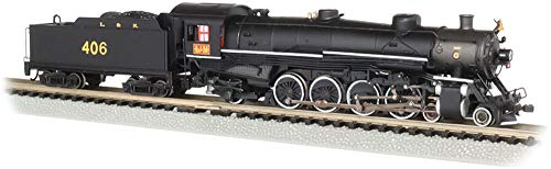 4-8-2 Light Mountain Dcc Sound Value Equiped Steam Locomotive L&N #406 - N Scale