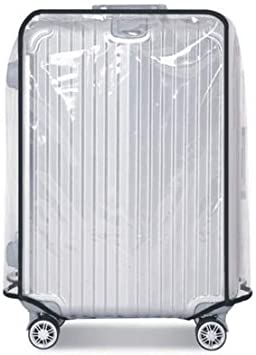 Funda de Maleta Cubierta Maleta de Equipaje de PVC Transparente a Prueba de Polvo Impermeable 28in Protector para Maleta