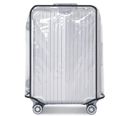 26 28 30 Inch Luggage Cover Protector Bag PVC Clear Plastic Suitcase Cover Protectors Travel Luggage Sleeve Protector (28 Inch)
