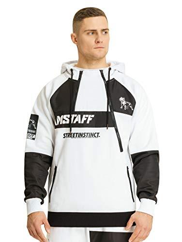 Amstaff Milito Half Ziphoodie XL