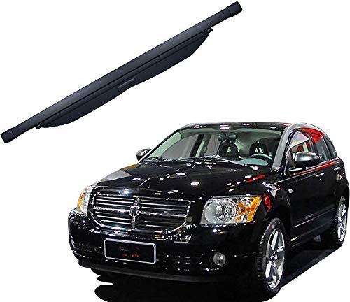 Aojiek Auto Laderaumabdeckung Kofferraumabdeckung Rollo FüR Dodge Caliber 2007-2012 Kofferraum Schutz Abdeckung GepäCkraumabdeckung Einziehbar