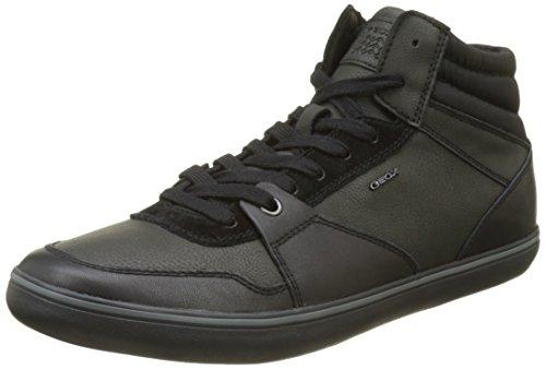 Geox Herren U Box J Hohe Sneaker, Schwarz (Black), 41 EU