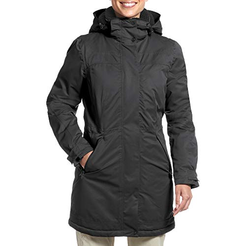maier sports Damen Lisa 2 Mantel, Schwarz (black), 38