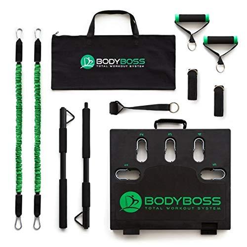 トレーニング器具 自宅用 筋トレ 体幹 BODYBOSS 2.0 トータル ワークアウト システム ポータブルフィットネスジム 腹筋 Full Band パッケージ 2年保証