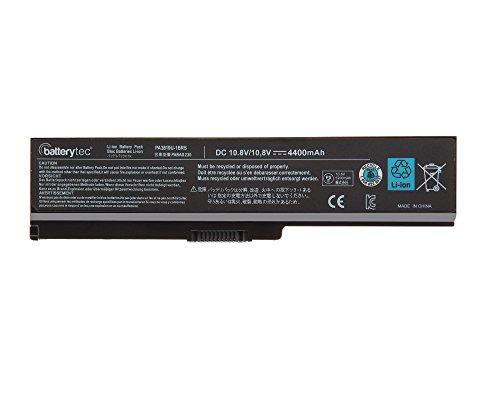 Original Batterytec® Laptop-Batterie für TOSHIBA PA3817U-1BRS PA3819U-1BRS TOSHIBA Satellite C655 L650 L650D L655 L655D L700 L745 L750 L750D L755 L755D M640 M645 P745 P755 P775 Series[10.8V 4400mAh 12 Monate Herstellergarantie]