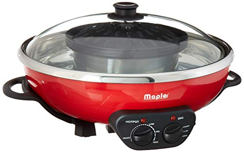 Maple Hot Pots (Maple Enjoy Suki Hot Pot Shabu with BBQ Grill)