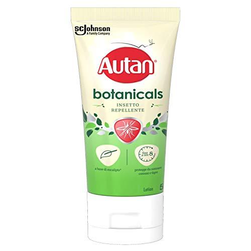 Autan Botanicals Lotion Insetto Repellente e Antizanzare a Base di Olio di Eucalipto, 1 Confezione da 50 ml