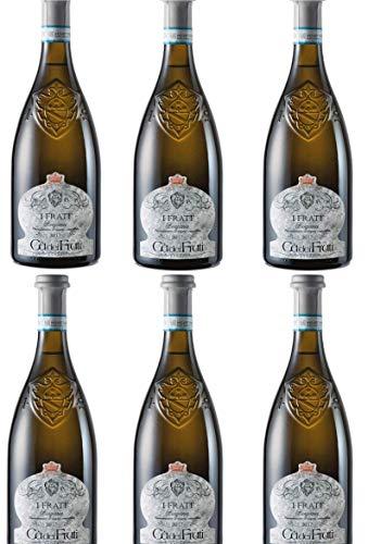 Weißwein Lugana I Frati 2019 - Weingut Cà dei Frati 6 Flaschen x 0,375 l.