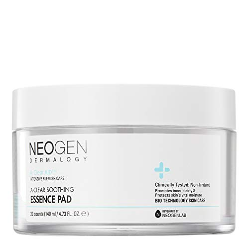 DERMALOGY by NEOGENLAB A-CLEAR SOOTHING ACNE CARE (ESSENCE PAD)