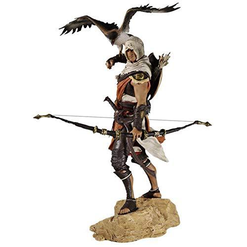 QINGQING Assassins Creed Origins Figura Bayek Figuras de acción 11 Pulgadas