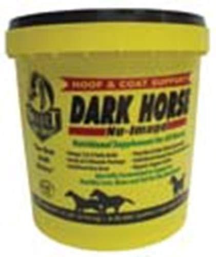 RICHDEL 784299621008 Dark Horse Nu-Image Hoof & Coat Support for Horses, 10 lb