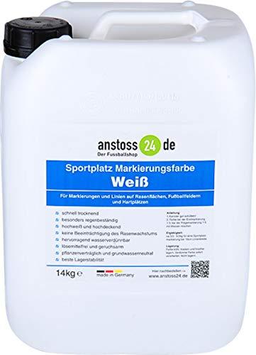 EWFF Sportplatz Linien-Markierungsfarbe - 14 kg