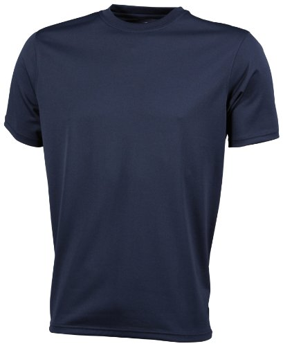 James & Nicholson Herren Langarmshirt Funktions T-Shirt Active blau (navy) XXX-Large