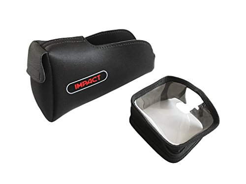 coperture de protección Metal Detector Nokta Impact para pantalla marco Control Box + compartimiento batería 2protecciones originales