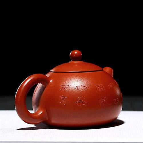 Chiński czajniczek czajniczek dzbanki do herbaty Zhuni Beauties garnek ręcznie robiony gliniany garnek naklejki malowany czajniczek (kolor: czerwony)