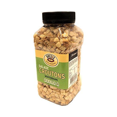 Krexxx Salade Croutons Mediterraans 250g Dose (Salat Croutons Mediteran)
