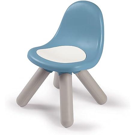 Smoby - Kid Chaise - Mobilier pour Enfant - Dès 18 Mois - Intérieur et Extérieur - Bleu Orage - 880108