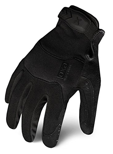 Ironclad EXOT-PBLK-02-S Tactical Operator Pro Glove, Stealth Black, Small