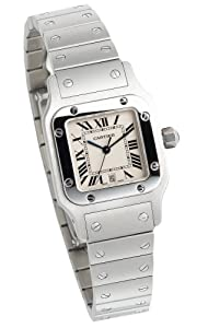 Cartier Men's W20060D6 Santos Galbee Stainless Steel Watch Prices and Reviews and review image