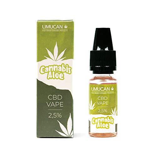 CBD-Liquid Limucan Vape - Aloe - 250mg -...