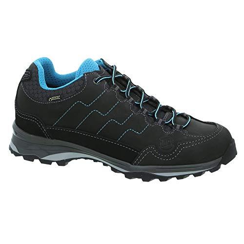 Hanwag Robin Light Lady GTX Chaussures basses de trekking et de randonnée pour femme - Noir - Noir , 42.5 EU