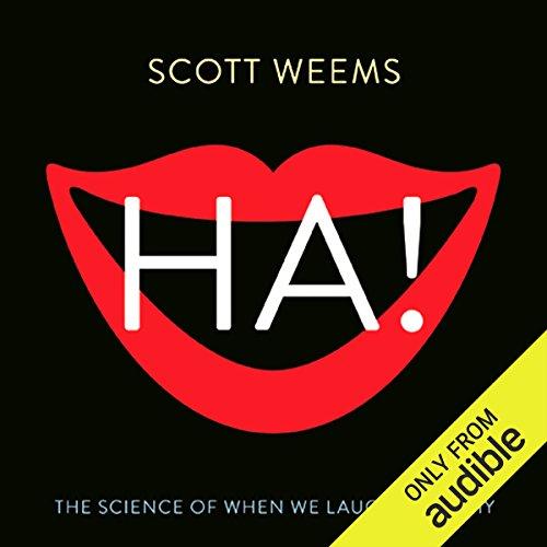 Ha! audiobook cover art