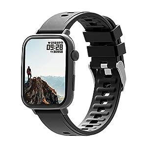 "UHOOFIT SmartWatch,Orologio Fitness Tracker Uomo Donna 1,69""Touch Schermo,Smart Watch Sonno Cardiofrequenzimetro…"