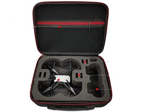 Kismaple Tello Custodia da Viaggio Hardshell Borsa di stoccaggio Borsetta, Borsa a Tracolla Impermeabile Interna Eva per DJI Tello Drone, Controller e Accessori
