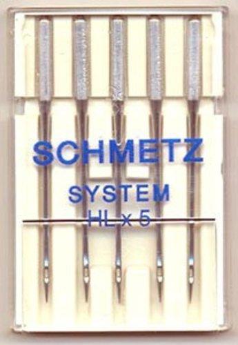 Schmetz HLX5 High Speed Home Quilting Machine Needles - 5/Pack (Size 14 (Metric Size 90))
