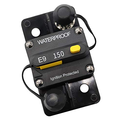 Disyuntor de 150 Amperios con Reinicio Manual, Disyuntor de Audio Marino