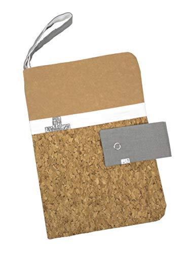 Personalisierbare Windeltasche Wickeltasche Windeletui individualisierbar Murmelhühnchen verschiedene Farben (grau)