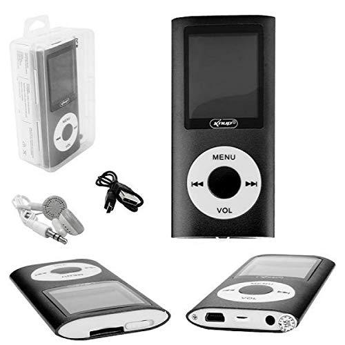Mp4 Player Com Visor e Entrada SD Card Preto Knup KP-4007 KP-4007 KNUP