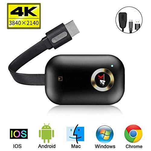 Adaptador inalámbrico de pantalla Dongle, 5G/2.4G WiFi, receptor de pantalla portátil 1080P HDMI, Dongle Receptor Miracast DLNA Airplay para iOS/Android/Mac/Window/TV/Monitor/Proyector