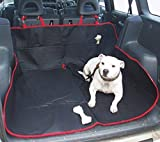 EFG Heavy Duty Universal Waterproof 2 in 1 Boot Liner Rear Car Back Seat Protector Pet Dog <span class='highlight'>Cat</span> Cover