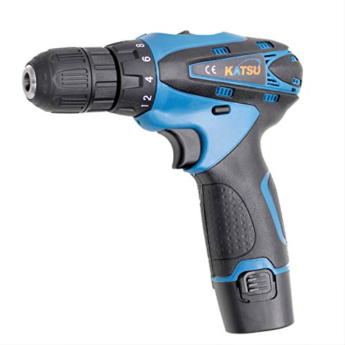 102378 12V Two-Speed Lithium-ion Rechargeable Electric Drill Screwdriver Twin Battery