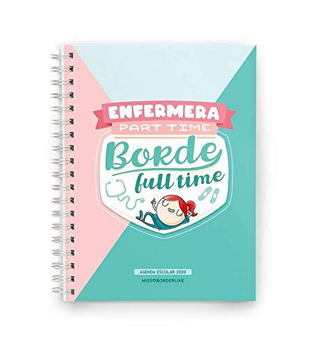 Missborderlike - Agenda escolar 2019-2020 - Universitaria part time borde full time