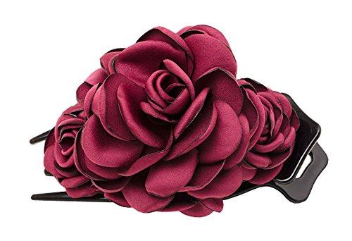 Accessoire Barrette Cheveux Exquis Rouge