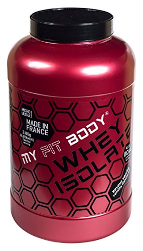 My Fit Body - Whey Isolate Gama Pro - Proteina di Siero di Latte - Ideale per Aumentare la Massa Muscolare- Integratore Sportivo - Proteina in Polvere - Proteina Isolata - Gusto Cioccolato - 2,2 Kg