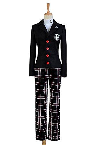 Fuman Persona 5 - Uniforme de protagonista para hombre, color negro, XXL
