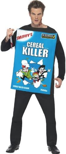 Topics High quality new on TV Smiffys Men's Cereal Costume Killer