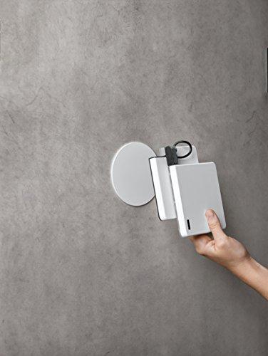 Nimbus Roxxane Fly Pad Wandhalterung für Roxxane Fly, weiß (Schraubmontage)
