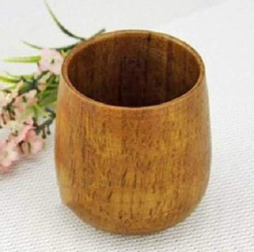 Viner Chinese stijl Retro handgemaakte natuurlijke houten kop Koffie Thee Bier Wijn Sap Melk Water Cups Drinkware