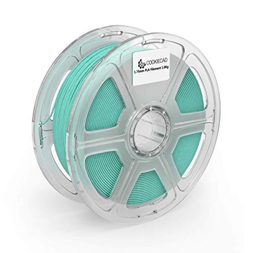 Cookiecad Mint Green PLA 3D Printer Filament 1.75mm 1kg