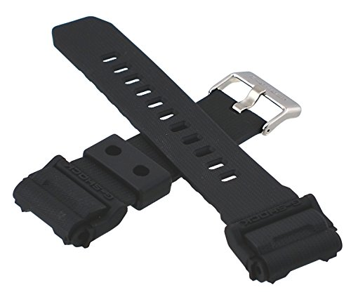Casio 10475776 Genuine Factory Replacement Black G Shock Band - GD400-1
