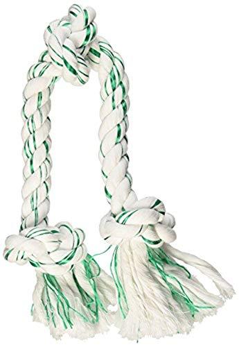 Booda Fresh N Floss 3 Knot Tug Rope Dog Toy, X-Large, Spearmint