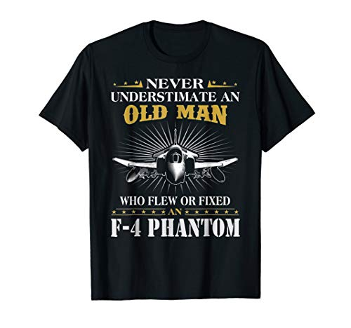Never Underestimate An Old Man Who Flew Of Fixed F-4 Phantom