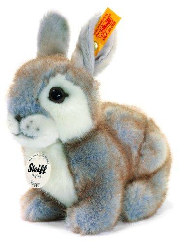 Steiff 080036 Happy Kaninchen 18 grau gespitzt Hase